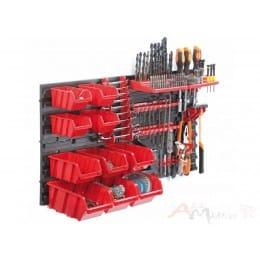 Органайзер для инструмента настенный Prosperplast Orderline NP2, красный