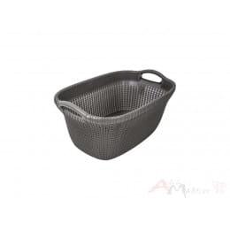 Корзина Curver Knit Laundry Basket 40 л коричневый