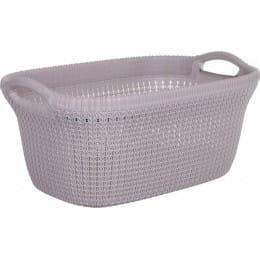 Корзина Curver Knit Laundry Basket 40 л, фиолетовый
