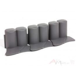 Ограждение декоративное Prosperplast Palisada IPAL6 302 x 10 см (черный)