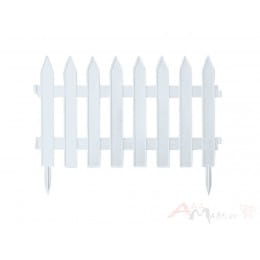 Садовый забор пластиковый Prosperplast Garden Classic (белый)