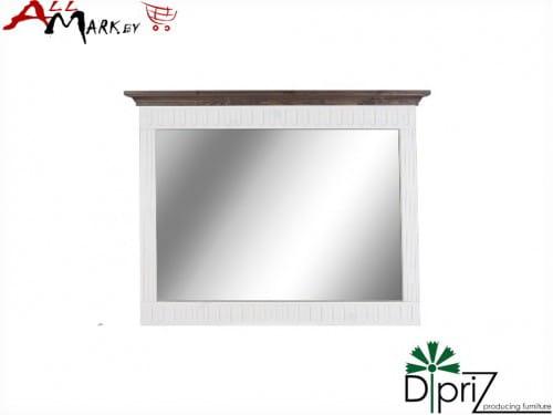 Настенное зеркало Стокгольм Диприз Д 7113-3 с деревянной рамой из массива сосны
