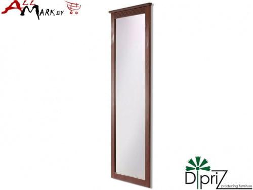 Настенное зеркало Индра Диприз Д 7120 с деревянной рамой
