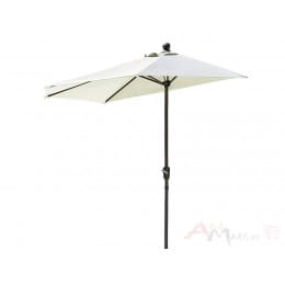 Зонт Testrut Halb-runder Schirm , белый
