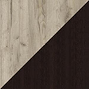 Корпус венге / фасад дуб серый